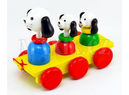 Miva Tři psi tahací
