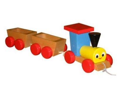 Miva Vláček s 2 vagónky tahací