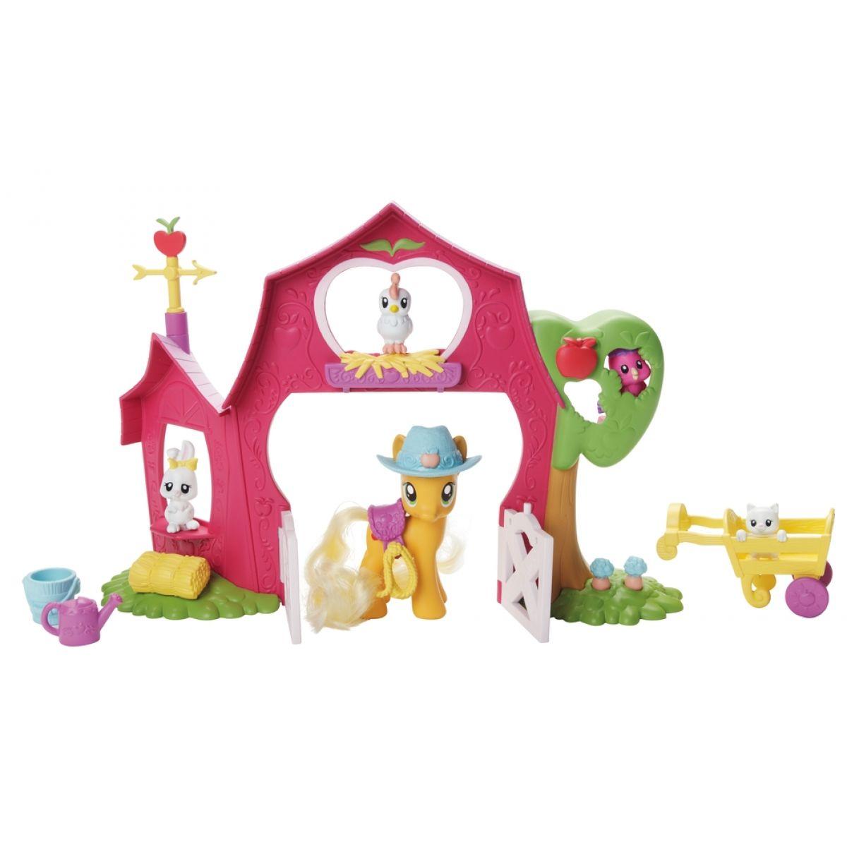 MLP hrací set jablková stodola Hasbro 21460