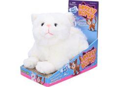 Mňoukací kočka 23 cm