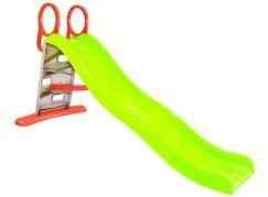 Mochtoys Dětská skluzavka s lezeckou stěnou 205 cm