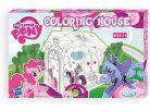 Mochtoys My Little Pony Papírový vymalovávací domek 2
