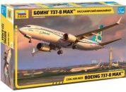 Zvezda Model Kit letadlo 7026 Boeing 737- 8 MAX 1:144
