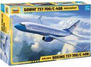 Zvezda Model Kit letadlo 7027 Boeing 737-700 C-40B 1:144