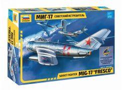Zvezda Model Kit letadlo 7318 MIG-17 Fresco 1:72