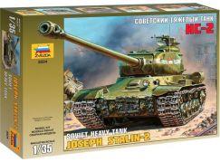 Zvezda Model Kit tank 3524 Josef Stalin-2 Soviet Heavy Tank 1:35