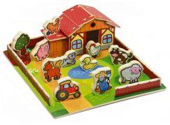 Moje první zvířátka Domeček dřevěná farma