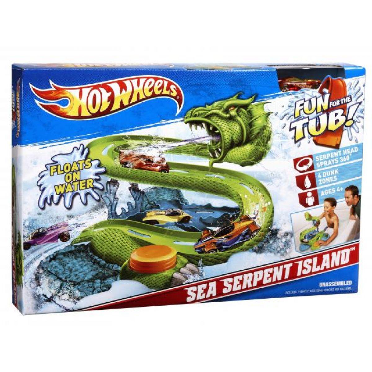 Mokrá dračí dráha Hot Wheels V0463