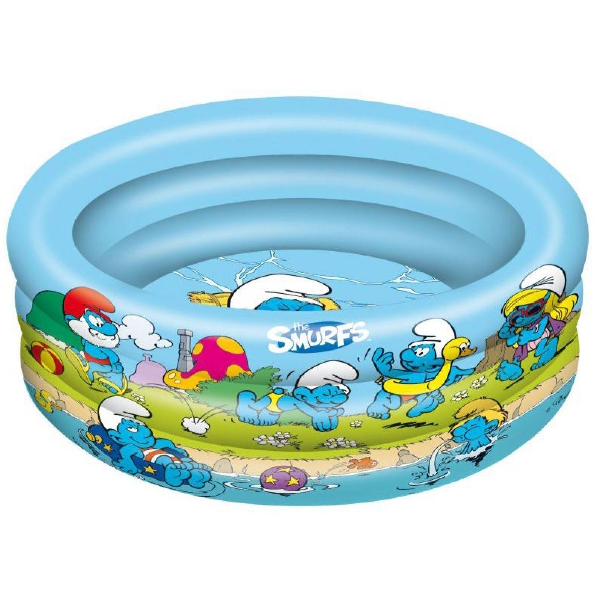 Mondo Nafukovací bazén Šmoulové 90cm