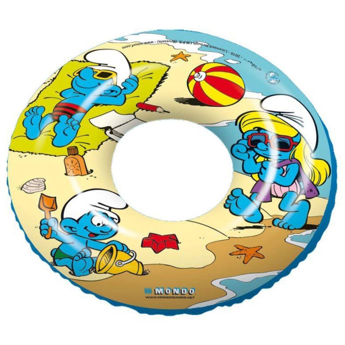 Mondo Nafukovací kruh Šmoulové 50cm