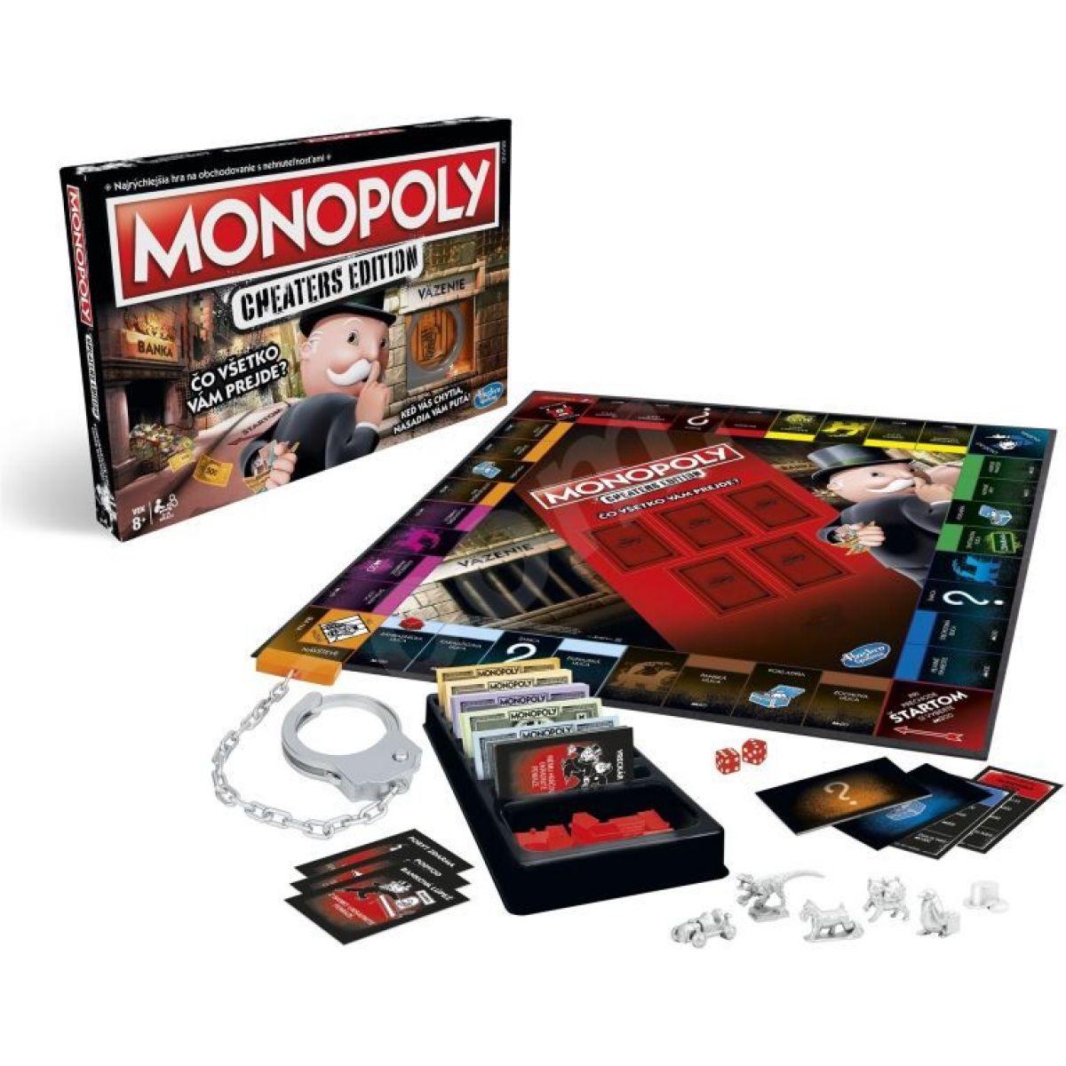 Monopoly Cheaters edition SK - Poškozený obal