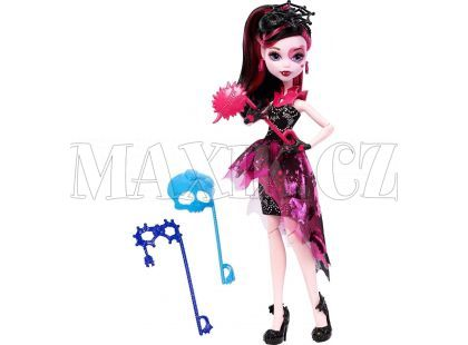 Monster High Monsterka s doplňky do fotokoutku - Draculaura DNX33
