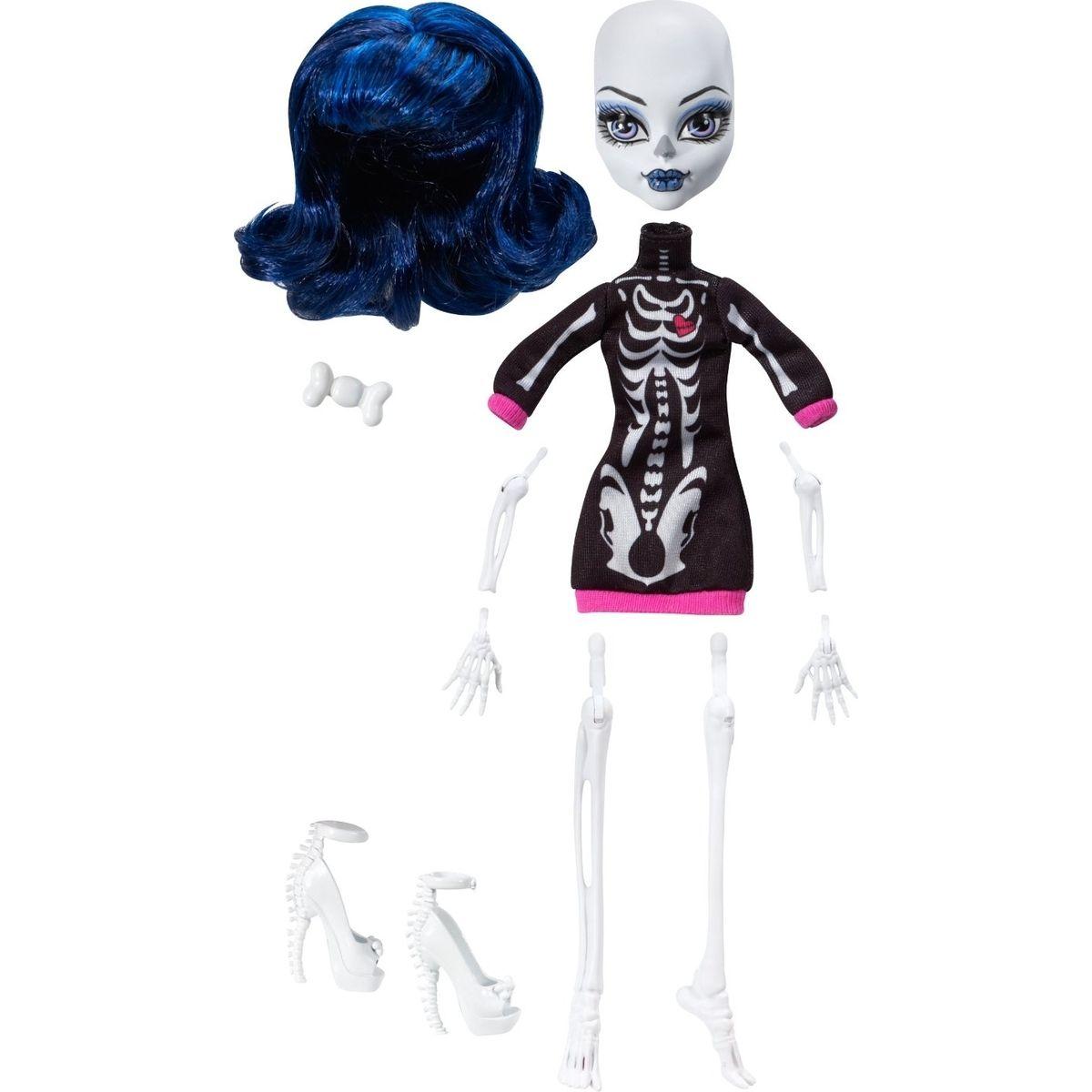 Monster High Sestav si příšerku - Doplňky - Kostra