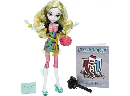 Monster High X4648 Příšerky - Lagoona Blue