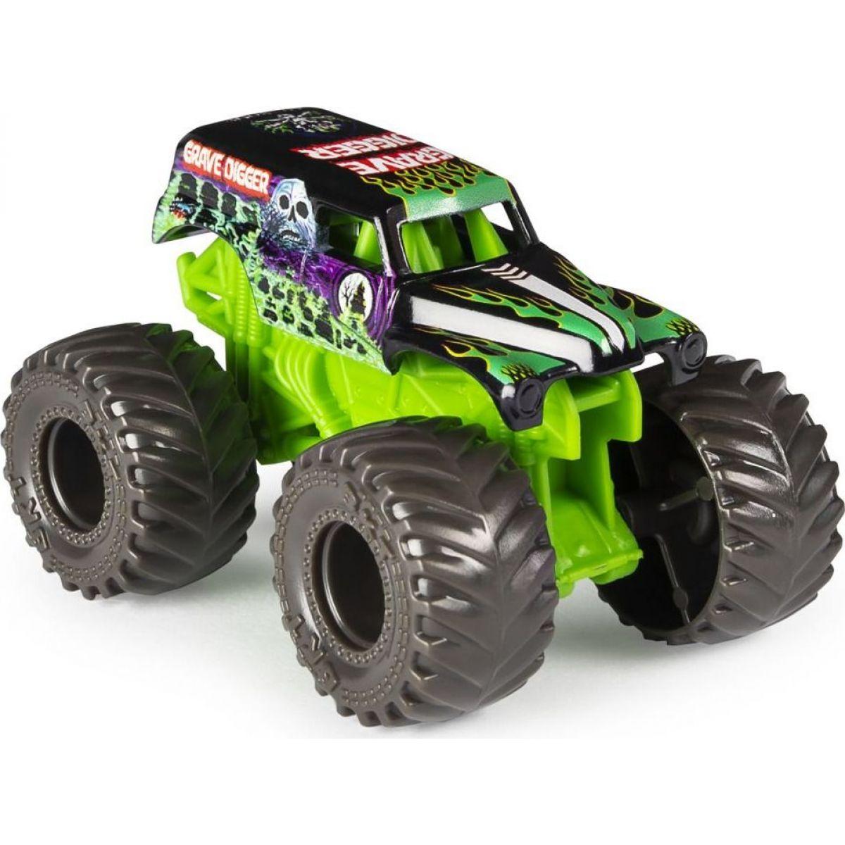 Monster Jam Sběratelská auta 1:70 Grave Digger
