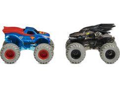 Monster Jam Sběratelská auta dvojbalení 1:64 Batman a Superman