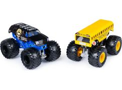 Monster Jam Sběratelská auta dvojbalení 1:64 Higher Education a Bounty Hunter