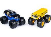 Monster Jam Sběratelská auta dvojbalení 1:64 Higher Education a Bounty Hunter