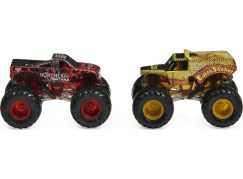 Monster Jam Sběratelská auta dvojbalení 1:64 Northern Nightmare a Earth Shaker