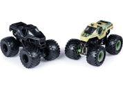 Monster Jam Sběratelská auta dvojbalení 1:64 Soldier Fortune a Soldier Fortune Black Ops