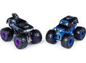 Monster Jam Sběratelská auta dvojbalení 1:64 Son-uva Tigger a Mohawk Warrior