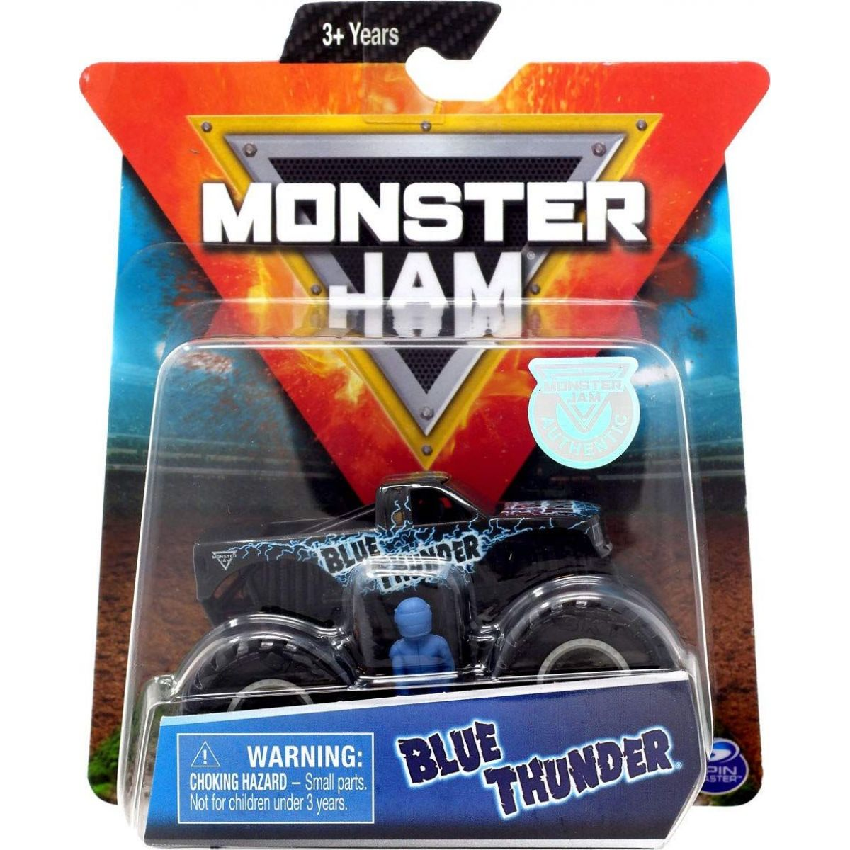 Monster Jam Sběratelská Die-Cast auta 1:64 Blue Thunder