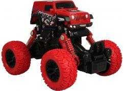 Monster pull back auto 1:43 červený