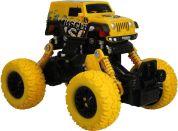 Monster pull back auto 1:43 žlutý