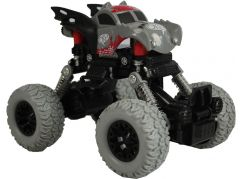 Monster pull back auto 1:43 šedý