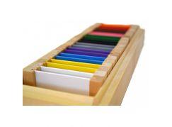Montessori Barevné destičky 2 - Rozšířená sada