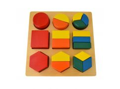 Montessori Geomertriký tác