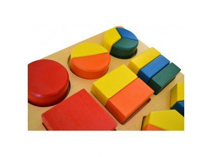Montessori Geometrický tác