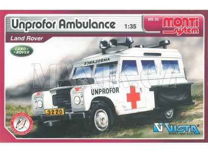 Monti System 35 Unprofor Ambulance Land Rover