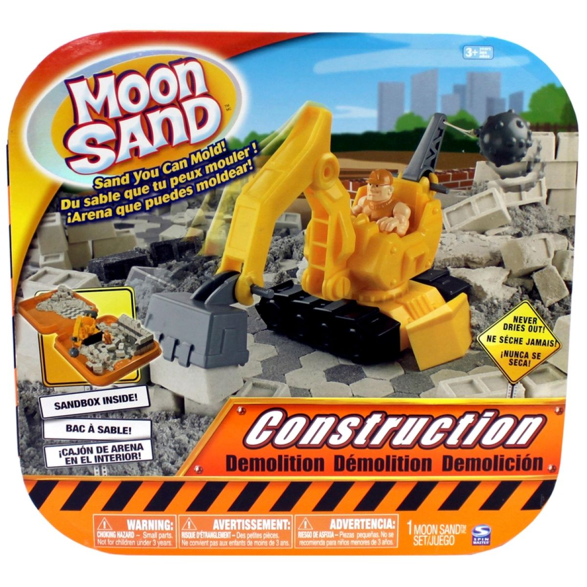 Moon Sand Sada velká - Construction demolition