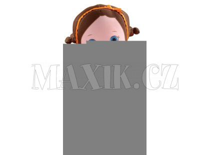 Mooshka hadrová panenka 24 cm - Zana