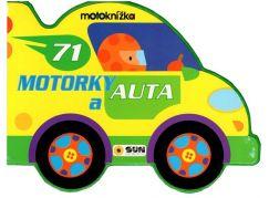 Motoknížka Motorky a auta leporelo