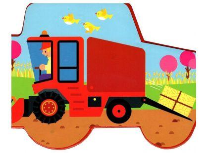 Motoknížka Traktory leporelo