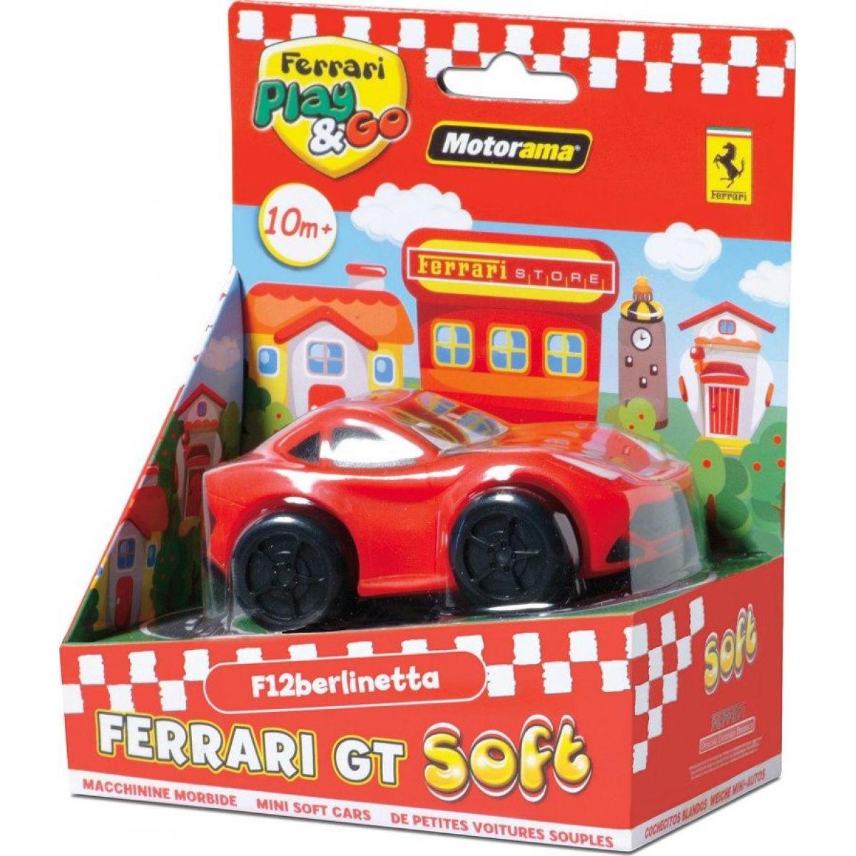 Motorama Auto Ferrari GT soft - Červená