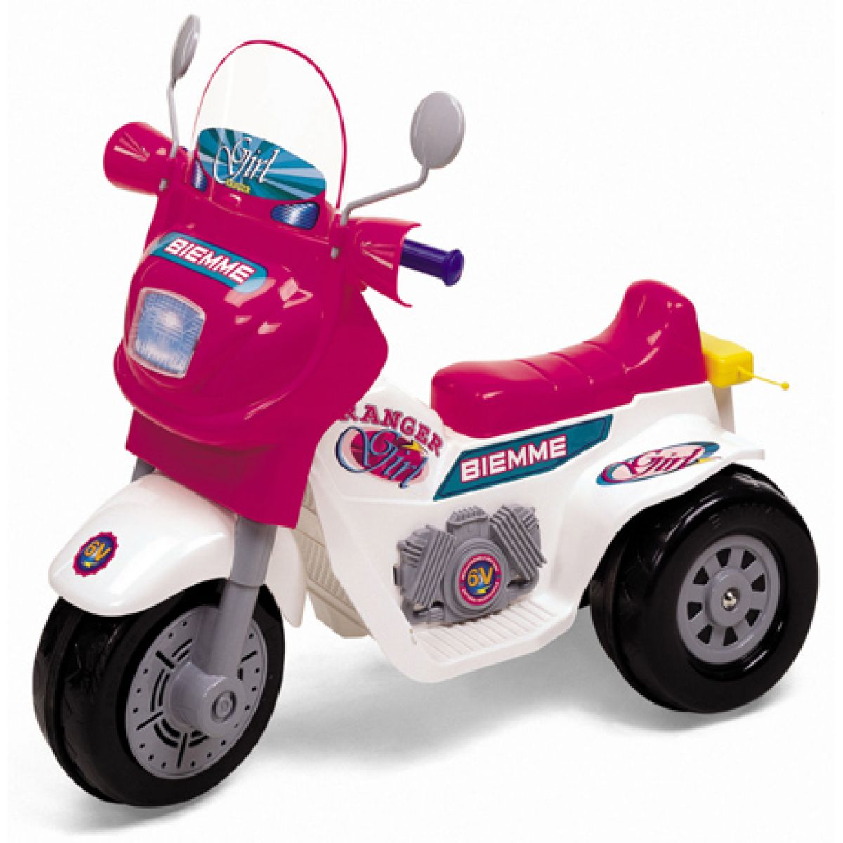 Motorka RANGER dívčí 6V Biemme