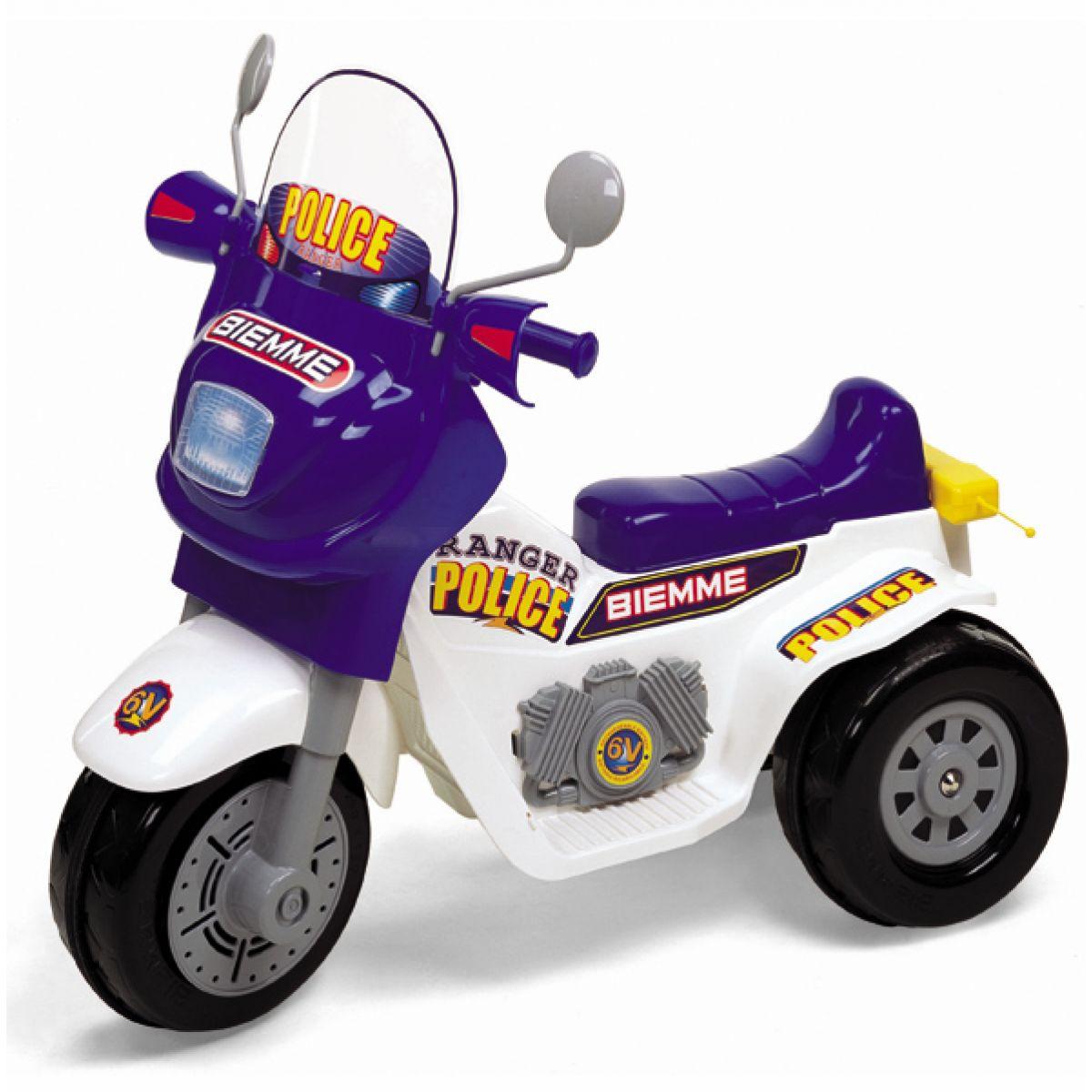 Motorka RANGER policie 6V Biemme