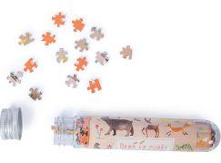 Moulin Roty Mini puzzle Lesní zvířata