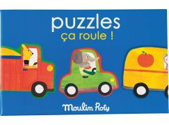 Moulin Roty Puzzle Moulin Roty auta