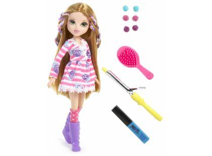 Moxie Girlz Magické vlasy s barevnými sponkami - Bryten