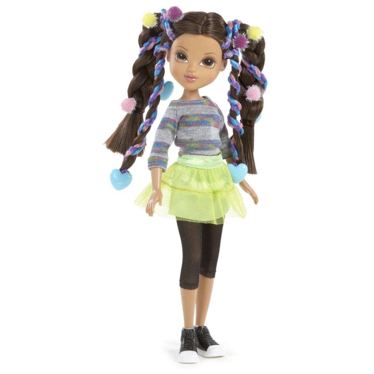 Moxie Girlz Magické vlasy s barevnými sponkami - Sophina #2