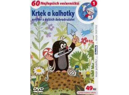 MÚ Brno Dvd Krtek a kalhotky