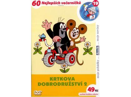 MÚ Brno Dvd Krtkova dobrodružství 2