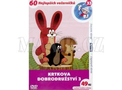 MÚ Brno Dvd Krtkova dobrodružství 3