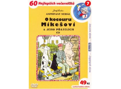 DVD - O kocouru Mikešovi 1