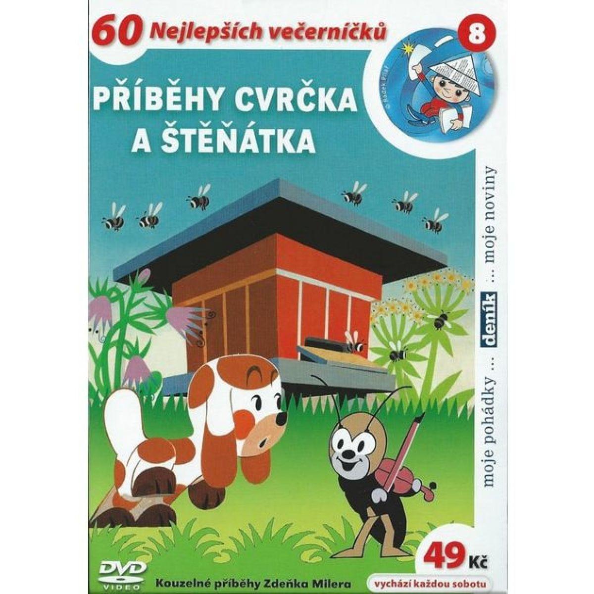 MÚ Brno Dvd Příběhy cvrčka a štěňátka