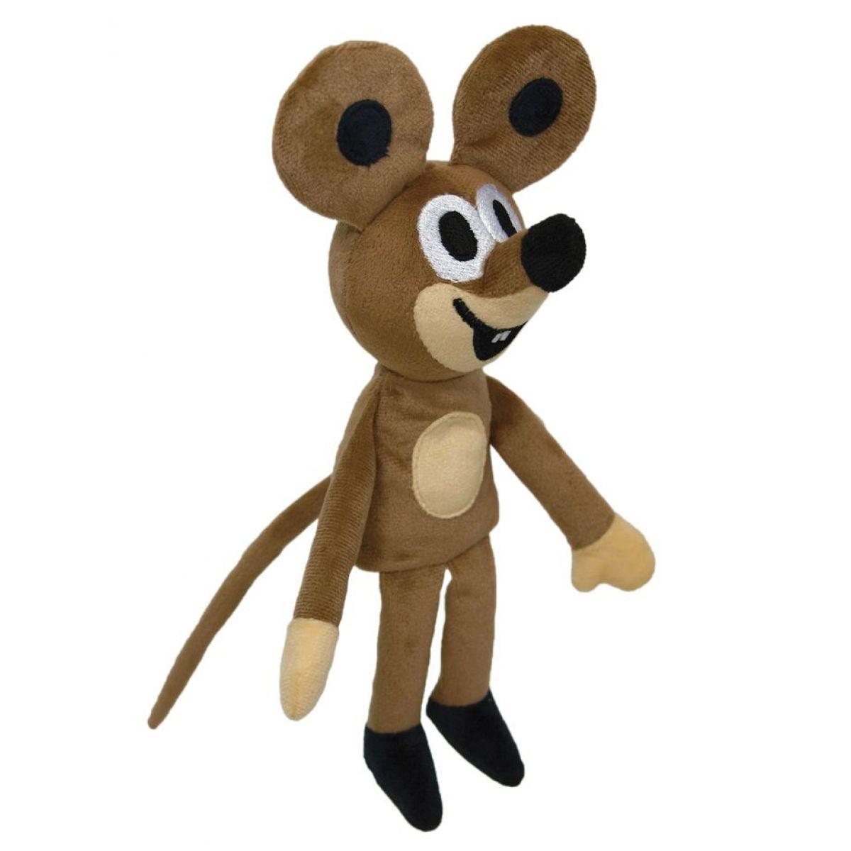 MÚ Brno Myška 23cm maňásek